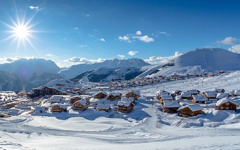 A 10 legjobb síparadicsom Európában - Alpe-dhuez-resort