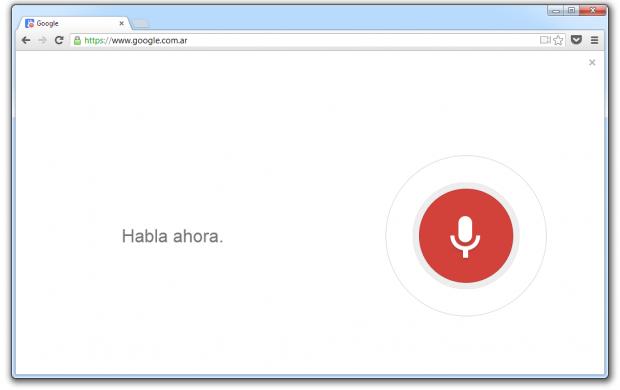 Google   Google® Chrome 2013 05 22 11 37 56 e1369234879949 Activar la búsqueda por voz al diseño Google® Now en Chrome