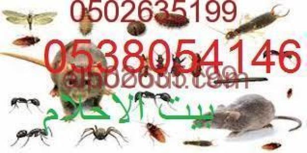 رش مبيدات