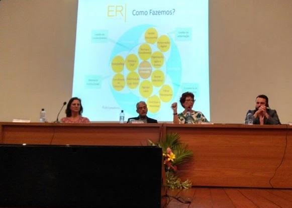 """Conferência """"Memórias Digitais em Busca de Eternidade"""", por Profª Drª Eliana Rezende"""