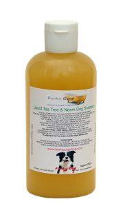 Bottiglia x1 di Tea Tree liquido e olio Neem per shampoo cane, 100% naturale