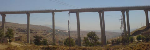 Sawfar Bridge Destroyed