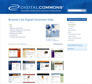 Digital Commons Site - Customers Gallery