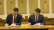 El acuerdo: Sánchez y Rivera