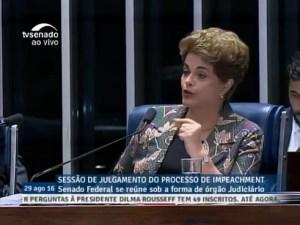 Dilma: último acto
