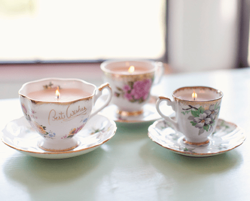 teacup-candle-wedding-centerpieces