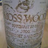Cabernet Sauvignon 2000, Moss Wood