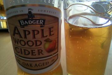 Badger Apple Wood Cider