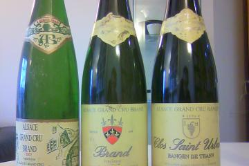 Three 2001 Alsace Rieslings