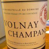 Volnay Premier Cru Champans 2006, Domaine Marquis d'Angerville