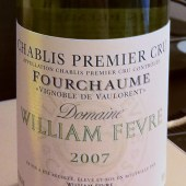 Chablis Premier Cru Fourchaume 'Vignoble de Vaulorent' 2007, Domaine William Fevre
