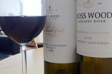 Moss Wood Cabernet Sauvignon and Ribbon Vale Cabernet Merlot