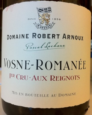 Vosne-Romanee Premier Cru Aux Reignots 2004, Domaine Robert Arnoux