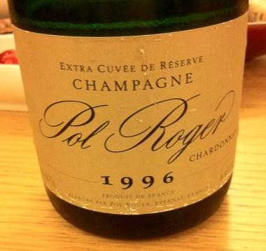 Champagne Chardonnay Brut 1996, Pol Roger
