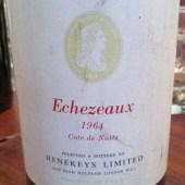 Echezeaux 'Cote de Nuits' 1964, Henekeys Limited