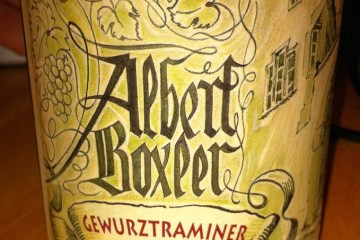 Gewurztraminer 2008, Albert Boxler