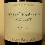 Gevrey-Chambertin &#039;En Billard&#039; 2005, Alain Burguet