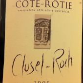 Cote-Rotie 2005 from Clusel-Roch