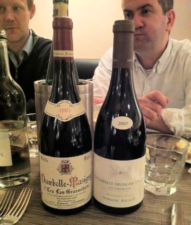 Two Premier Cru Chambolle-Musignys