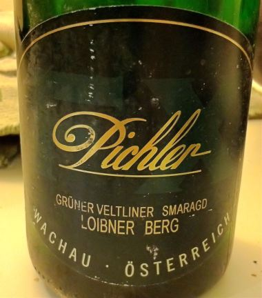 Gruner Veltliner Smaragd Loibner Berg 2001, FX Pichler