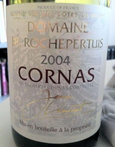 Cornas 'Domaine de Rochepertuis' 2004, Jean Lionnet