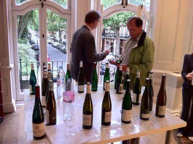 The Kabinetts at the Howard Ripley German Riesling tasting 2010