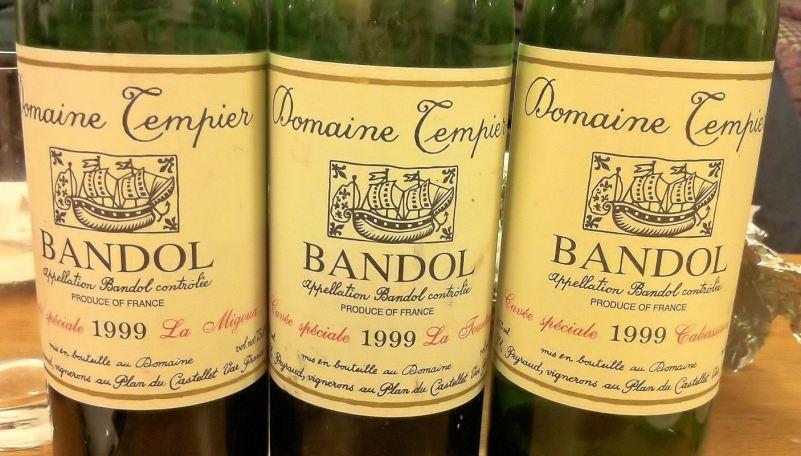 Domaine Tempier 1999 single vineyard Bandols