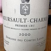 Meursault Premier Cru Charmes 2000, Domaine Comte Lafon