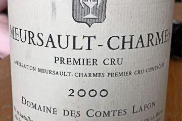 Meursault Premier Cru Charmes 2000, Domaine Comte Lafon