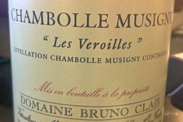 Chambolle Musigny Les Veroilles 2002, Domaine Bruno Clair