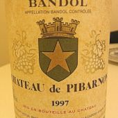 Chateau Pibarnon 1997, brown-hole Bandol