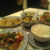 Bangkok Brasserie present an array of food