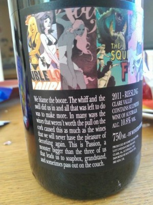 Monsters Monsters Attack back label