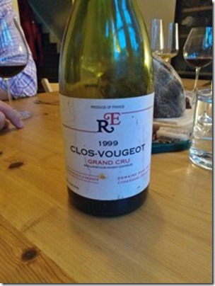 Clos Vougeot Grand Cru 1999 by Rene Engel