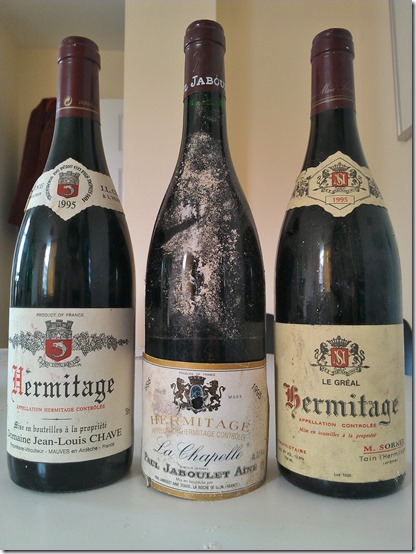Three 1995 Hermitages