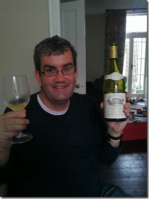 Peter with a Corton Charlie