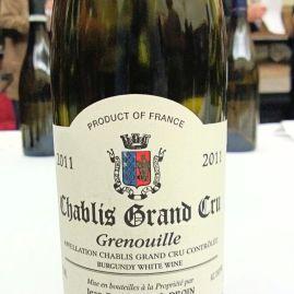 Domaine Droin Chablis Grand Cru Grenouilles
