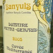 Banyuls Cuvee Mediterranee 2005