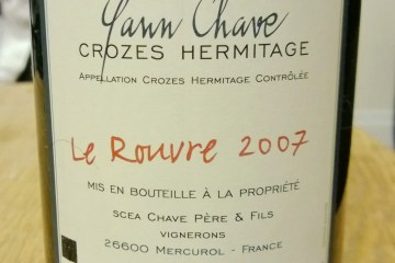 Crozes-Hermitage Le Rouvre 2007 by Yann Chave