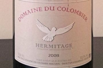Domaine Colombier Hermitage 2008