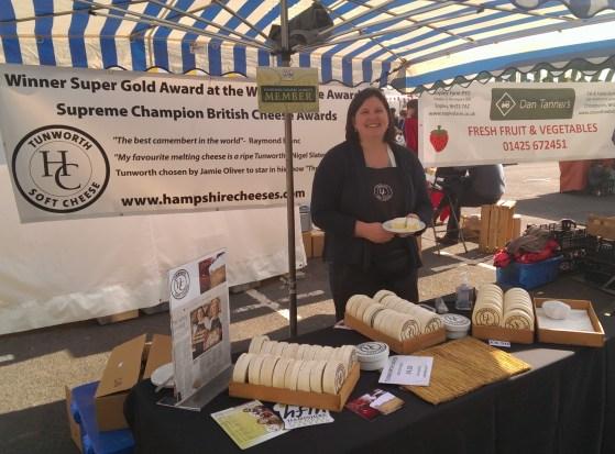 Tunworth from Hampshire Cheese