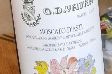 G D Vajra Moscato 2012