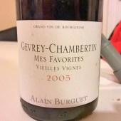 Burguet Gevrey-Chambertin Vieilles Vignes 2005