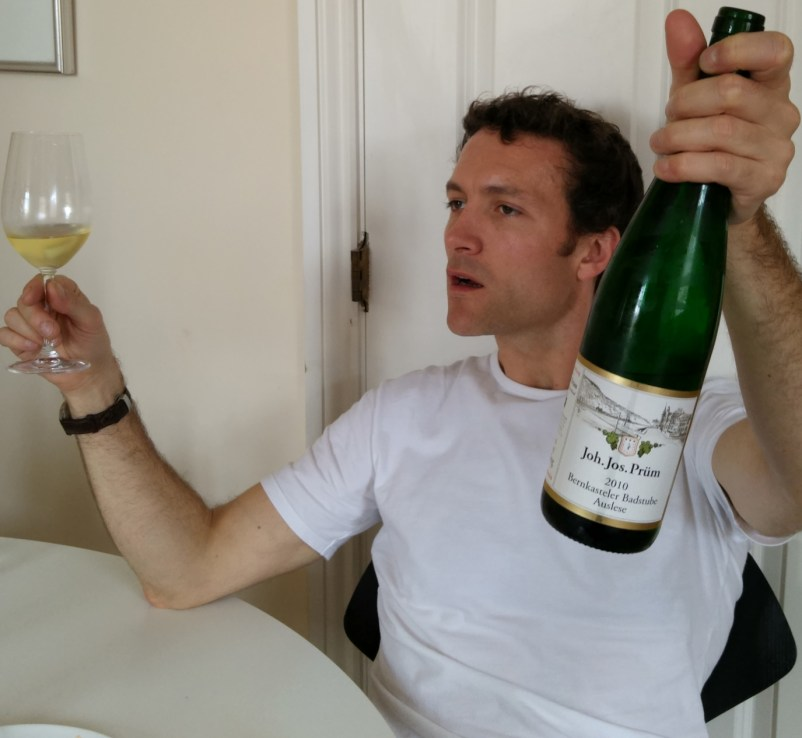 Richard is moved by Riesling