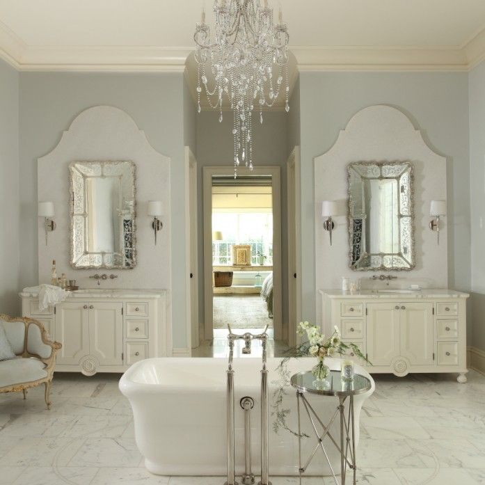 French country bathroom design collage for French bathroom decor