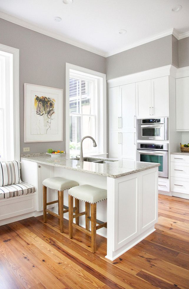 Beautiful Gray paint color for kitchen