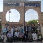 L'Association des Cadres de la Commune Urbaine d'El-Jadida (ACCUJ) en partance pour Dakhla.