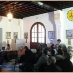 l'Association Mazagan El Jadida pour le Patrimoine a reçu le 20 octobre 2017  Le professeur Moulim Laâroussi