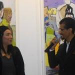 Laïla IRAKI : un œil vigilant… vernissage de l'exposition «Regard perçant»