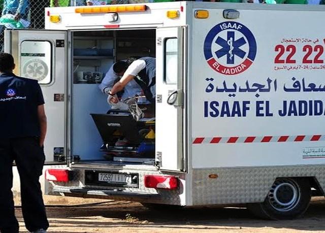 El Jadida: Le service ISSAÂF sauve un citoyen d'une mort certaine